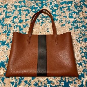 Vince Camuto tote brown and black